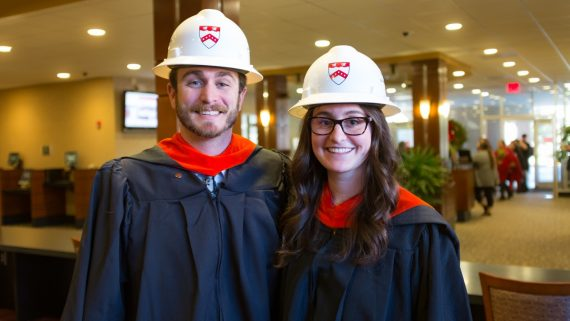 Engineering Online Graduates Earned Master's Degrees by Working Together