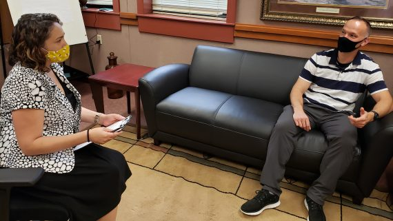 Clinical Mental Health Grad Makes an Impact with the Military